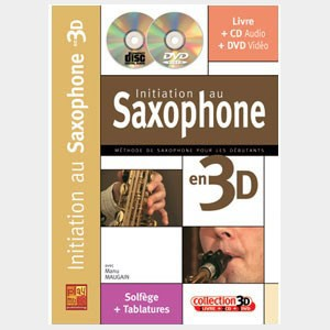Initiation au saxophone en 3D