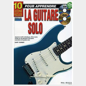 methode guitare 10 le ons faciles pour apprendre la guitare solo gary turner. Black Bedroom Furniture Sets. Home Design Ideas