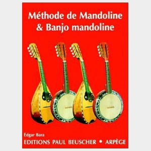 Méthode de Mandoline et de banjo mandoline