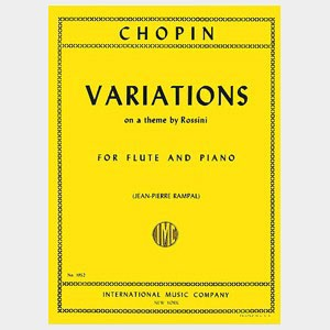 Variations on a theme by rossini - Chopin