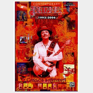 Partition de musique Carlos Santana Contemporary Santana 1992-2006