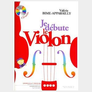 Je débute le violon - Bime-Apparailly