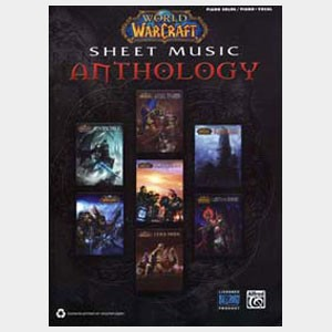 World of Warcraft Sheet Music Anthology piano solo & vocal