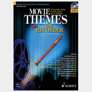 Movie Themes for soprano recorder