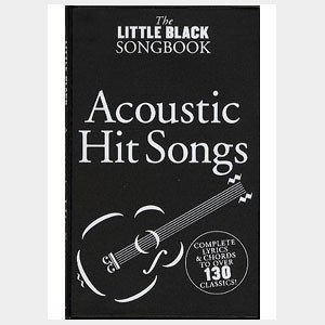 Acoustic Hit songs - Little black Songbook
