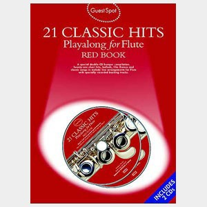 21 Classic hits playalong for Flute - Red Book