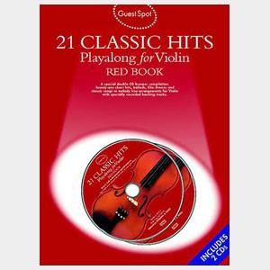 21 Classic hits playalong for Violin - Red Book
