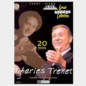 Charles Trenet : 20 titres pour piano