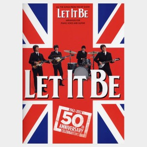 achat vente en ligne de partition des beatles, les Beatles, partitions, partition The Beatles let it be from the hit show