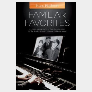 Piano Playbook - Familiar Favorites
