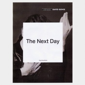 Partition piano vocal et guitare de l'album de David Bowie The Next Day. Partition et songbook