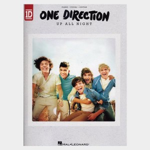 Songbook album Up All Night du groupe One Direction. Partition de musique en ligne