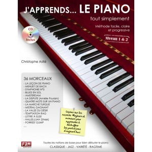 Méthode de piano avec CD - J'apprends le piano tout simplement volume 1