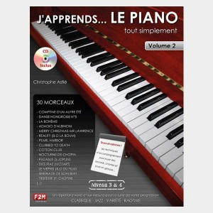 J'apprends le piano tout simplement - Volume 2