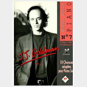 Recueil Special Piano N°7 - Jean-Jacques Goldman