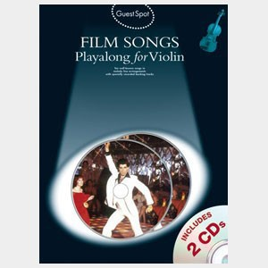 Film songs playalong for violin