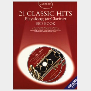 21 Classic hits playalong for Clarinet - Red Book