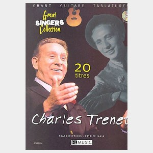 Charles Trenet : 20 titres pour guitare