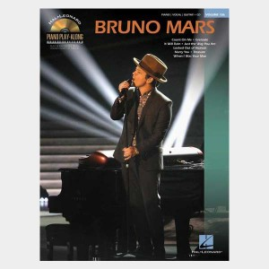 Partition piano vocal et guitare de collection Piano Play Along volume 126 Bruno Mars. Partition et songbook