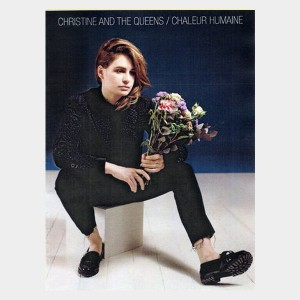 Partition piano vocal et guitare de l'album de Christine and The Queens Chaleur Humaine. Partition et songbook